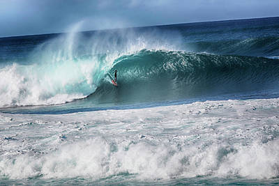 Photograph - Banzai Pipeline  North Shore by Dave Fimbres Photography