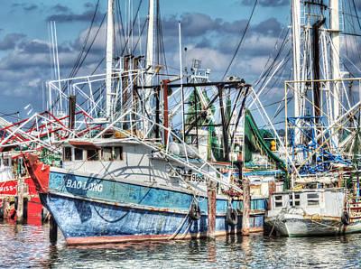 Photograph - Bao Long Shrimp Boat by Cathy Jourdan