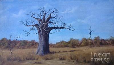 Baobab Painting - Baobab by Rita Palm