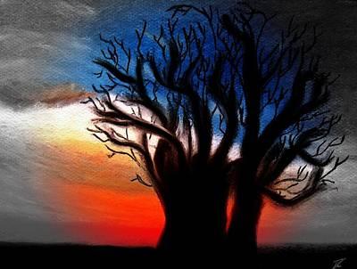 Baobab Tree 2 Art Print