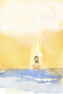Mystery Painting - Baptism by John Meng-Frecker