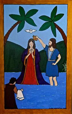 Photograph - Baptism Of Jesus by Stephanie Moore