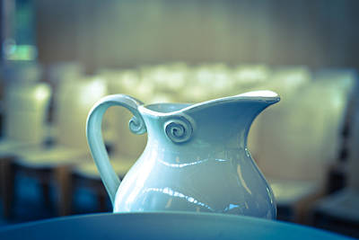 Photograph - Baptism Pitcher And Bowl by Ronda Broatch