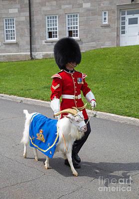 Katharine Hepburn - Baptiste the Goat by Edward Fielding
