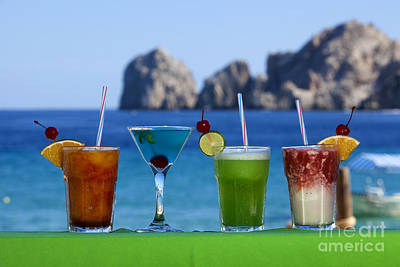 Martini Royalty-Free and Rights-Managed Images - Bar Drinks in Cabo San Lucas Mexico by Anthony Totah