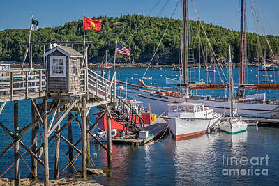 Photograph - Bar Harbor Boats by Susan Cole Kelly