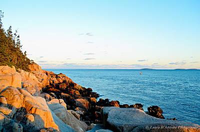 Photograph - Bar Harbor Coastline 2 by Laura DAddona