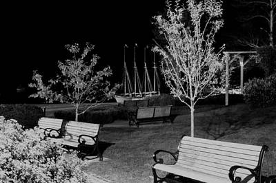Photograph - Bar Harbor In Black And White by Paul Mangold
