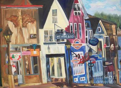 Painting - Bar Harbor by Joanne Killian