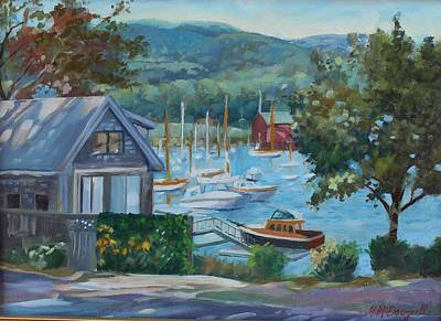 Painting - Bar Harbor Maine by Michael McDougall