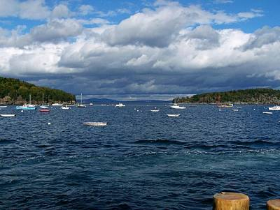 Print featuring the photograph Bar Harbor Me by Gene Cyr