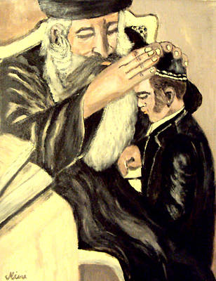Painting - Bar Mitzvah by Mimi Eskenazi
