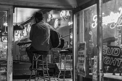 Musicians Royalty Free Images - Bar Musician in Nashville  Royalty-Free Image by John McGraw