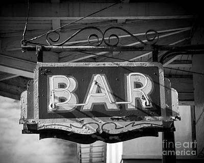 Bar Neon Sign Original by Perry Webster