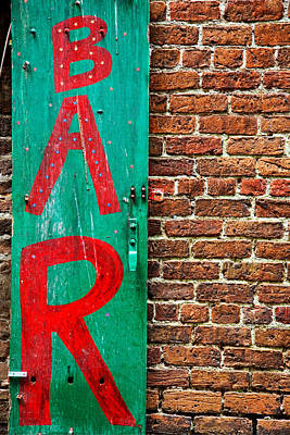 Photograph - Bar by Peter Tellone