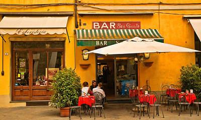 Digital Art - Bar San Giusto by Mick Burkey