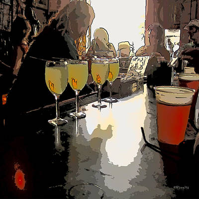 Photograph - Bar Scene - Absinthe At Pirates Alley by Rebecca Korpita