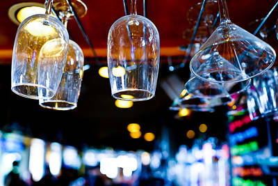Photograph - Bar Scene by Ben Graham