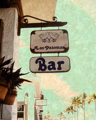 Photograph - Bar Sign Puerto Vallarta by Ann Powell