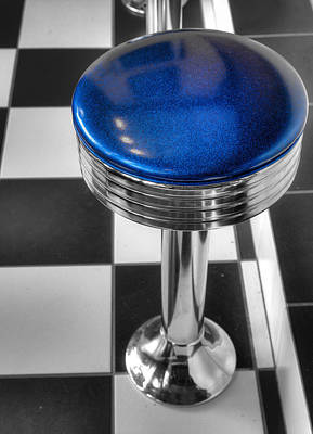 Photograph - Bar Stool by Alexey Stiop