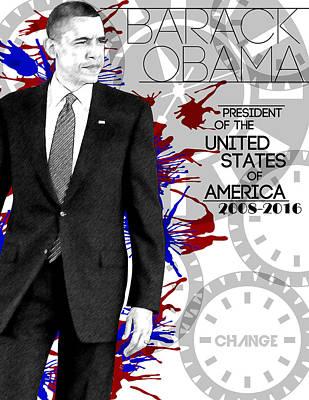 Photograph - Barack Obama by Anibal Diaz