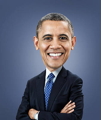 Politicians Photograph - Barack Obama by Fitim Bushati