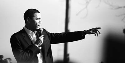 Hope And Change Photograph - Barakobama2007 by Dexter Browne