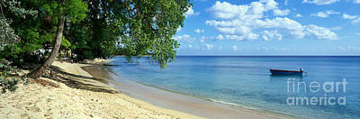 Beach Panorama Photograph - Barbados by Rod McLean