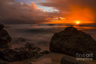 Photograph - Barbados Sunset by Matt  Trimble