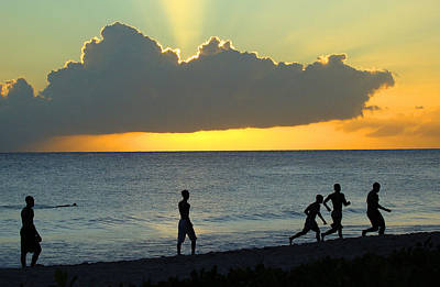 Photograph - Barbados Sunset by Paul Miller