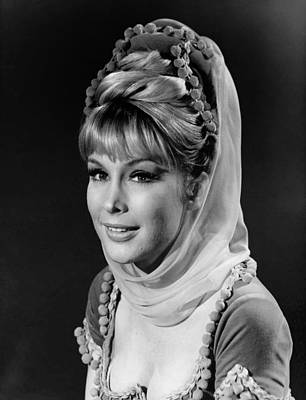 Barbara Eden - I Dream Of Jeannie  Art Print by Mountain Dreams