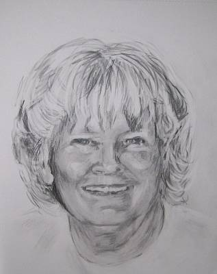 Drawing - Barbara by Martha Suhocke