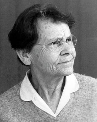 Physiology Photograph - Barbara Mcclintock by American Philosophical Society