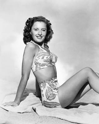 Photograph - Barbara Stanwyck by Granger