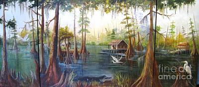 Barbaras Bayou Art Print