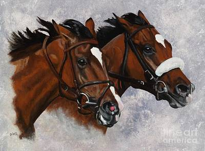 Painting - Barbaro And Nicanor by Pat DeLong