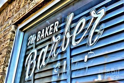 Photograph - Barber by AK Photography