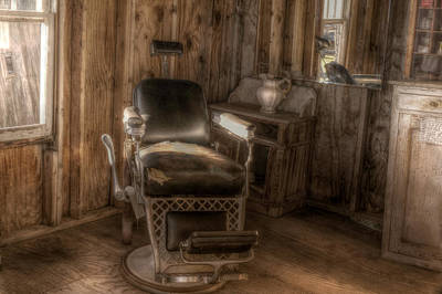 Photograph - Barber Chair by Michele Richter