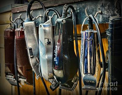 Electric Razor Photograph - Barber -  Hair Clippers by Paul Ward