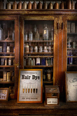 Photograph - Barber - Hair Dye by Mike Savad
