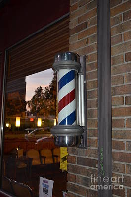 Photograph - Barber Pole by Bob Sample