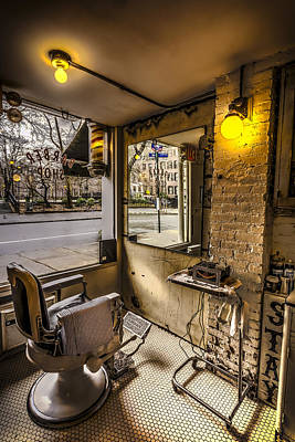Photograph - Barber Shop by David Morefield