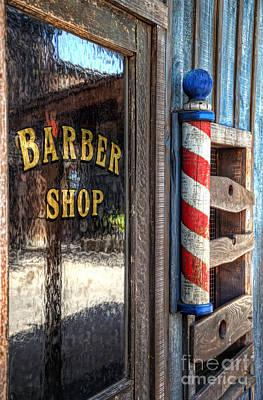Photograph - Barber Shop by Eddie Yerkish