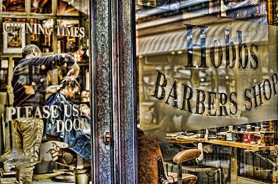 Photograph - Barber Shop by Heather Applegate