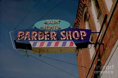 Photograph - Barber Shop   by Liane Wright
