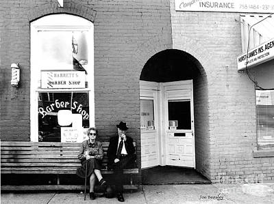 Photograph - Barber Shop Watertown Tennessee by   Joe Beasley
