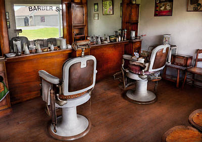 Photograph - Barber - The Hair Stylist by Mike Savad