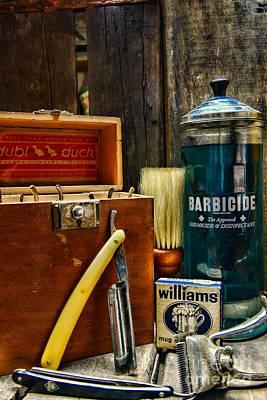 Barber - Vintage Barber Tools  Art Print