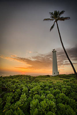 Photograph - Barbers Point Lighthouse Part 2 by Chris Multop