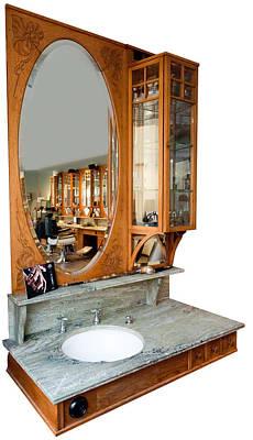 Marble Slabs Photograph - Barbershop by Torbjorn Swenelius